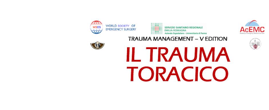 Parma, 7/4/17 - Il trauma toracico - Trauma management V edition